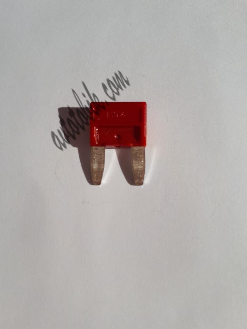 Предохранитель автомобильный MINI 10А красный МТА (1 шт.), фото 1