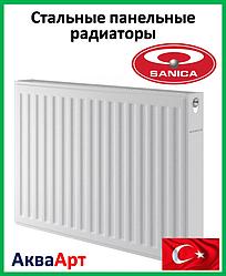 Стальной радиатор Sanica 11k 500*600 б.п.