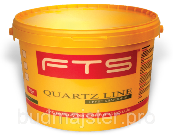 Фарба FTS грунтуюча силіконова Quartz line, 25 кг