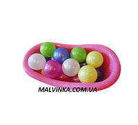 Игрушка ванночка с шариками ОРІОН 532 в.2 (390x215x160 мм)