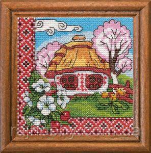 Леді Набор для вышивки крестом Квітуче Поділля 01294