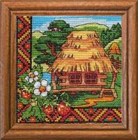 Леді Набор для вышивки крестом Суниці Волині 01297