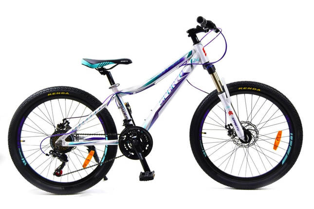 "Подростковый алюминиевый велосипед 24"" BENETTI Lucki DD, фото 2"
