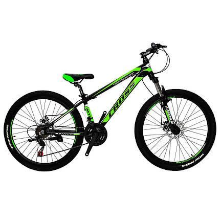 """Алюминиевый горный велосипед 26"""" CROSS HUNTER (21 speed, Lockout, Shimano), фото 2"""