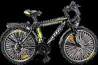 """Городской велосипед с багажником 26"""" TITAN SONATA (21 SP, Shimano) горный"""