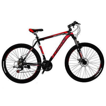 """Алюминиевый горный велосипед 27.5"""" CROSS HUNTER (Shimano, Lockout), фото 2"""