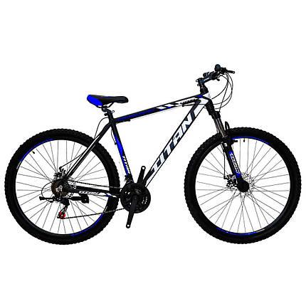 """Горный алюминиевый велосипед 29"""" TITAN EXPERT DD (Shimano, моноблок, Lockout), фото 2"""