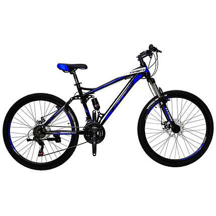 """Горный велосипед двухподвесник 26"""" Titan VIPER (Shimano, моноблок), фото 2"""