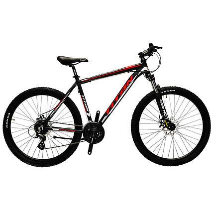 """Алюминиевый горный велосипед 27.5"""" TITAN GRIZZLY 2018 (Shimano, 24sp, Lockout), фото 2"""