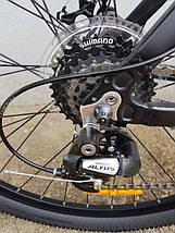 """Алюминиевый горный велосипед 27.5"""" TITAN GRIZZLY 2018 (Shimano, 24sp, Lockout), фото 3"""