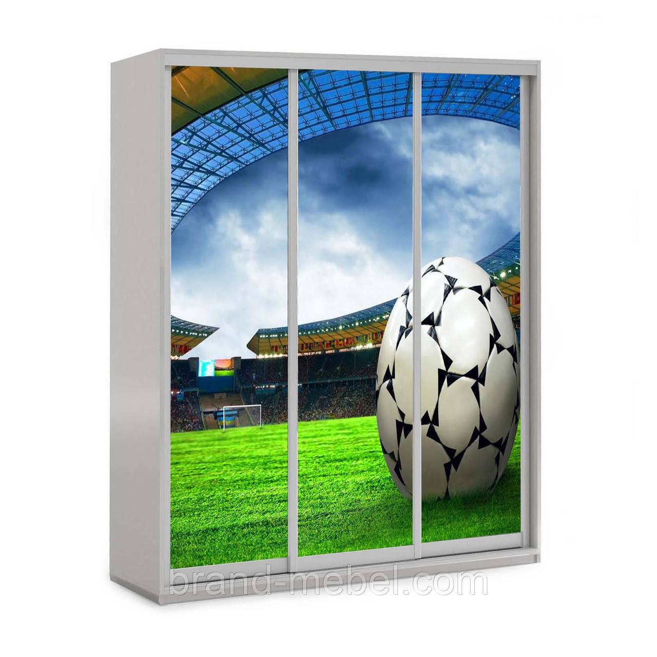 Детский шкаф-купе Футбол