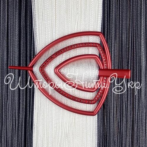 Заколка для штор нитей Треугольник Элит №11 Красный