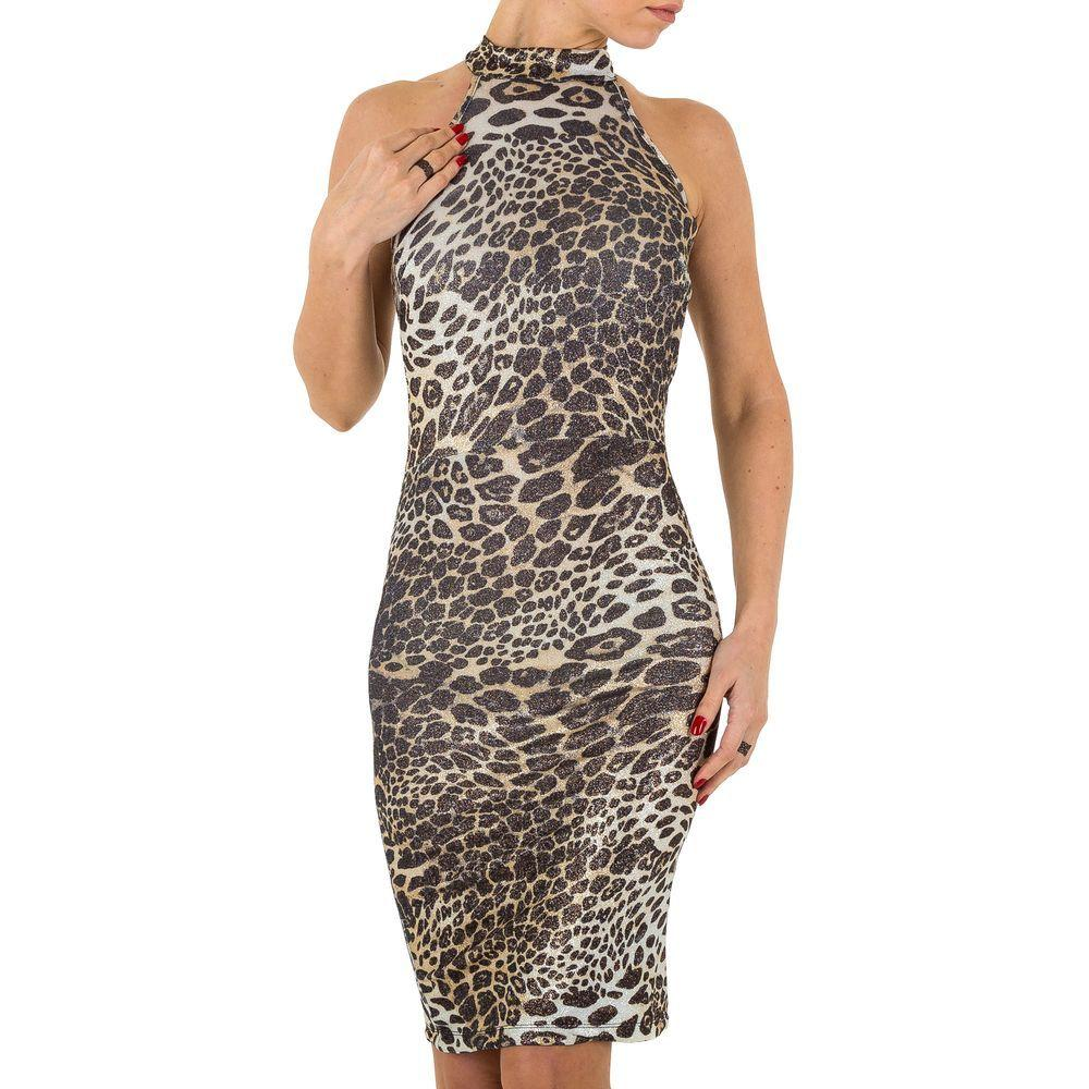 Женское платье от Voyelles, размер M - бежевый - KL-A907-бежевый M