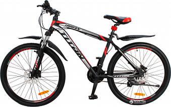 """Алюминиевый горный велосипед на гидравлике. 26"""" TITAN URBAN HDD, фото 2"""