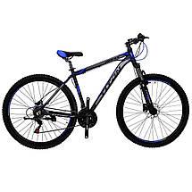 """Алюминиевый горный велосипед на гидравлике. 26"""" TITAN URBAN HDD, фото 3"""