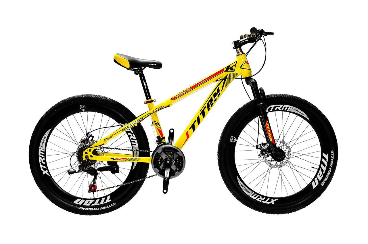 """Горный дисковый велосипед (взросло-подростковый) 26"""" TITAN MAXUS (21 speed, полуавтоматы)"""