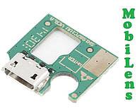 Huawei MediaPad T1 8, S8-701U, S8-701W, T1-821L Шлейф с разъемом зарядки и микрофоном