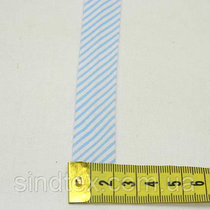 SALE Хлопковая косая бека, цветная (НА МЕТРАЖ), фото 2