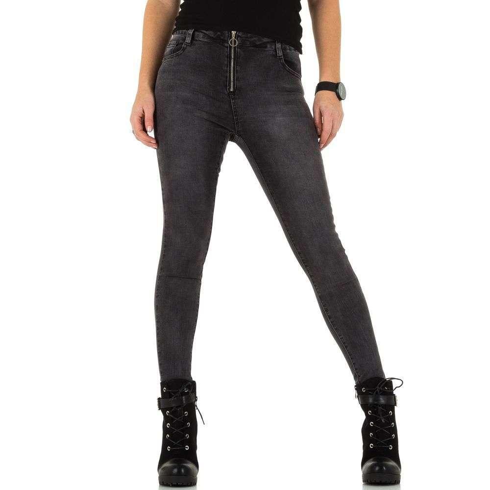 Женские джинсы от Laulia - DK.grey - KL-J-3D046-DK.grey