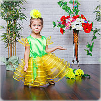 Карнавальное платье цветок Ромашка,фиалка,подснежник, фото 1
