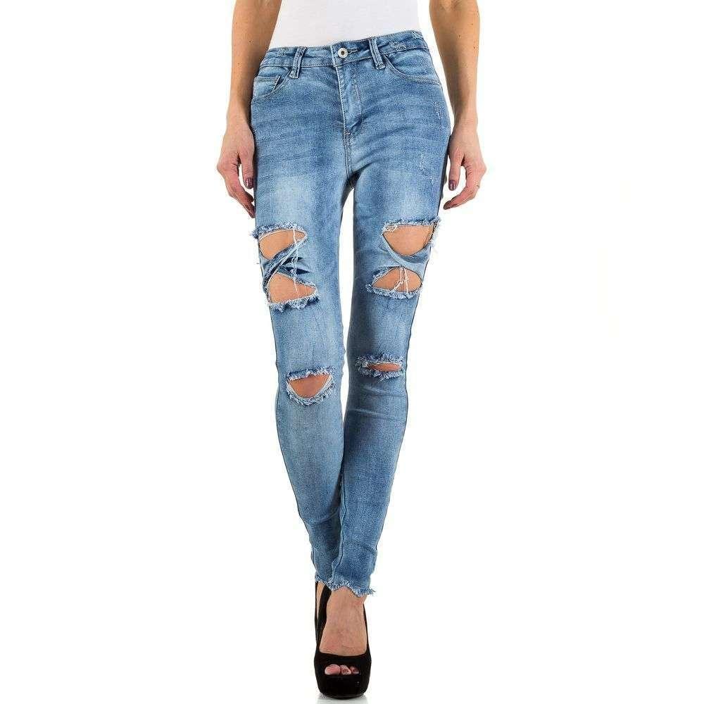 Женские джинсы Blue Rags, размер 34 - blue - KL-J-27650-синий 34