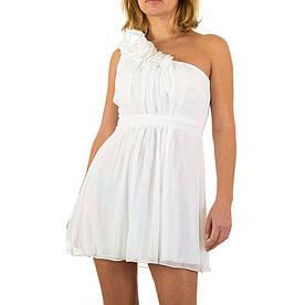 Женское платье от Usco - белый - KL-R061-белый