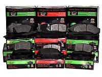 Тормозные колодки MAZDA 626 GT (GD), 626 WAGON (GV), 626 4WD (GD) дисковые задние, Q-TOP (Испания) QE0506
