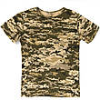 Детский камуфляж комплект футболка брюки Скаут Пиксель, фото 2