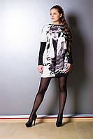 Платье-туника свободного кроя 591