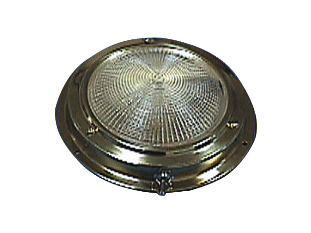 Галогенный потолочный светильник из латуни