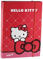 Kite 2015 Папка для зошитів на гумці картон В5 Hello Kitty