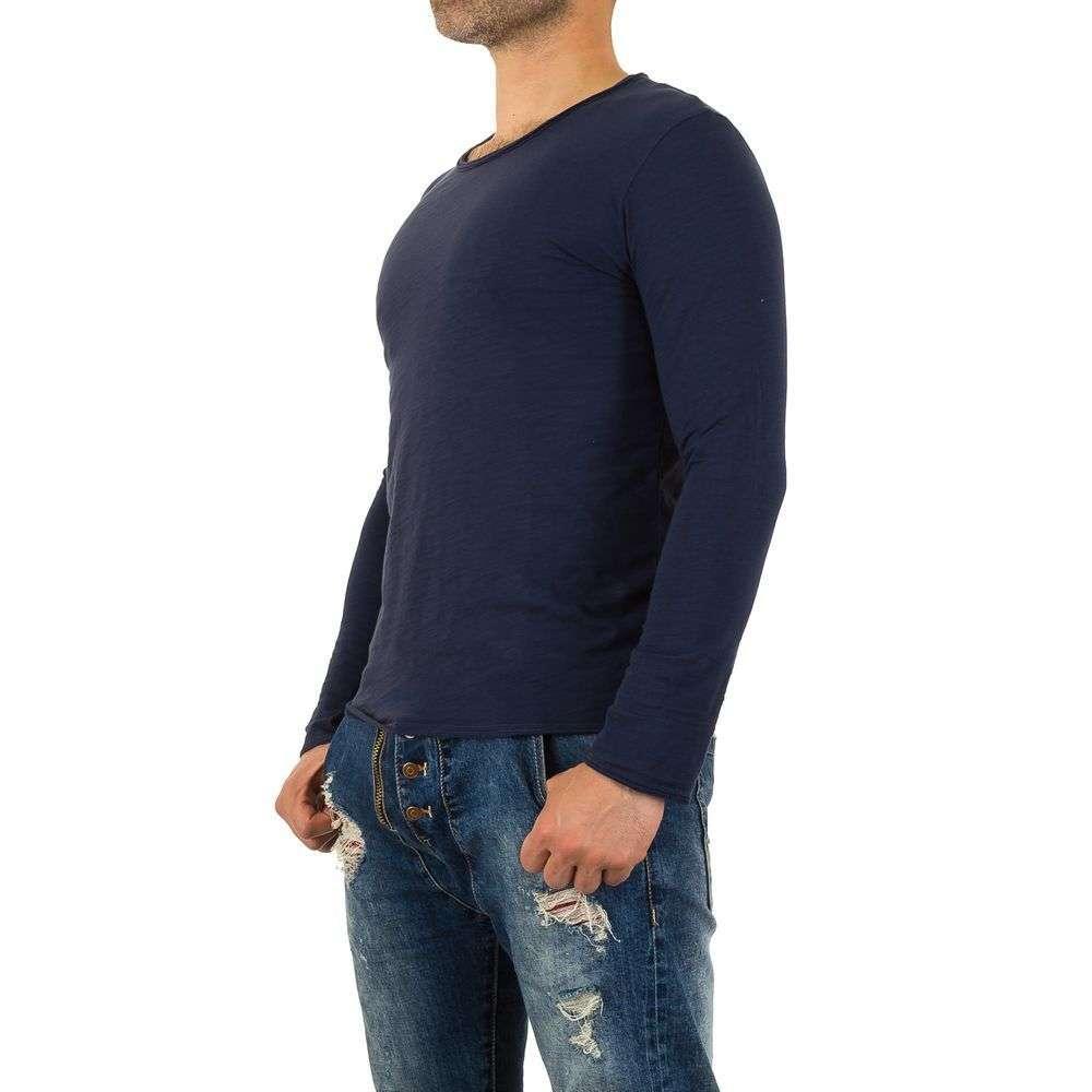 Мужская футболка от Y. Two Jeans - blue - KL-H-F625-синий