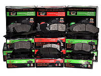 Тормозные колодки NISSAN PRIMERA (P10) 06/1990-01/1996 ( - ABS) дисковые передние, Q-TOP (Испания)  QF0350E