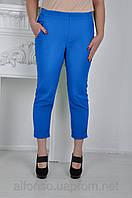 Укороченные женские брюки 618