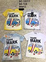 Трикотажные футболки для мальчиков Glass Bear  98–128 р.р.