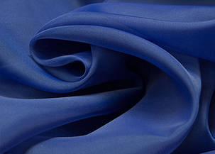 Шторный шифон Синий (электрик), вуаль, фото 2