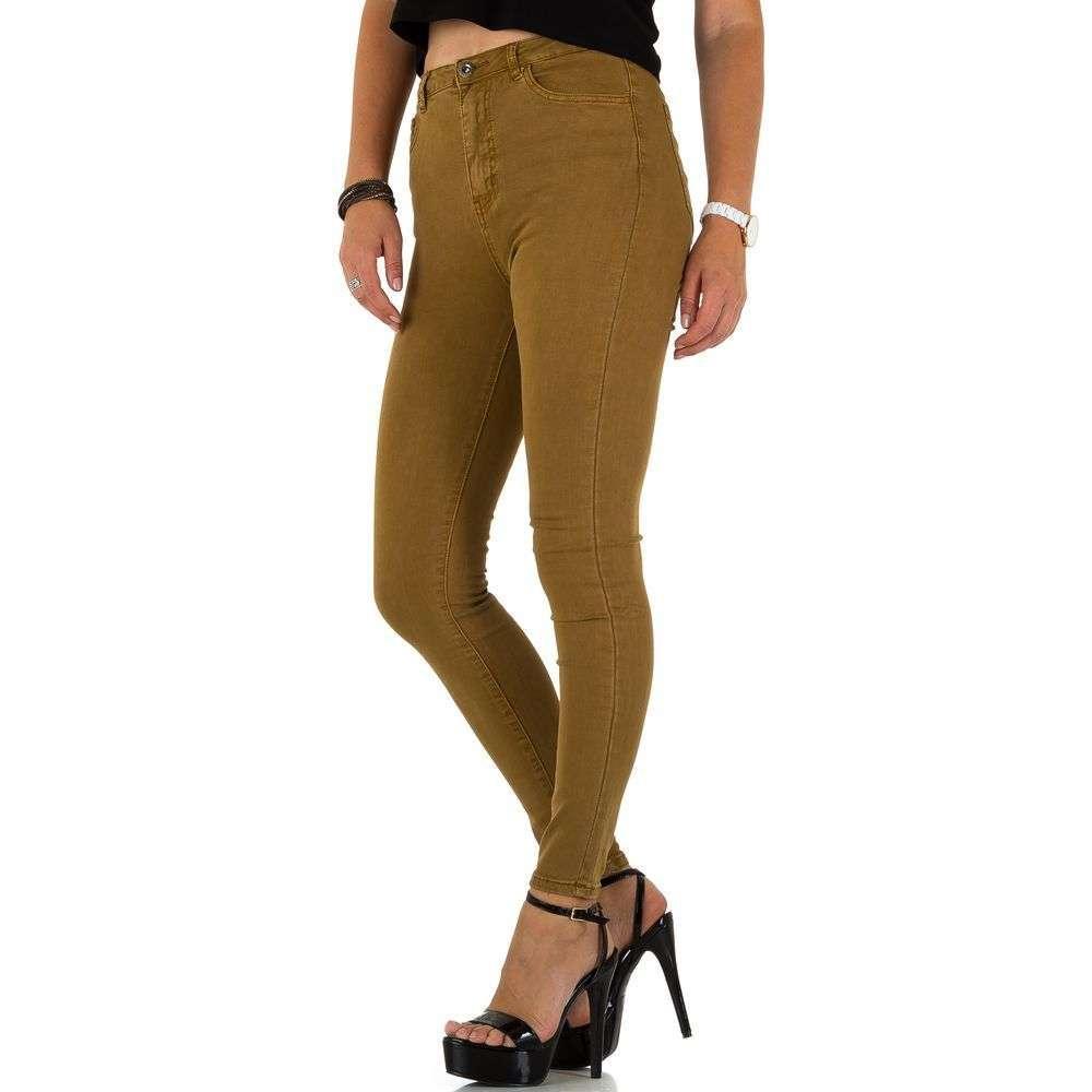 Женские джинсы от Naumy Jeans - Браун - KL-J-HN37-C-Браун