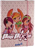 Kite 2015 Папка для зошитів на гумці картон В5 Pop Pixie