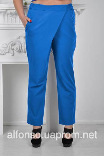 Укороченные женские брюки 619