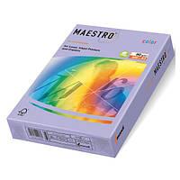 Цветная бумага А4 80 г/м2 LA12 лаванда