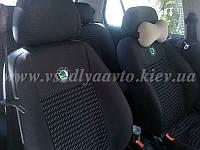 Авточехлы SKODA Fabia II (Шкода Фабия) сплошная спинка и сидение