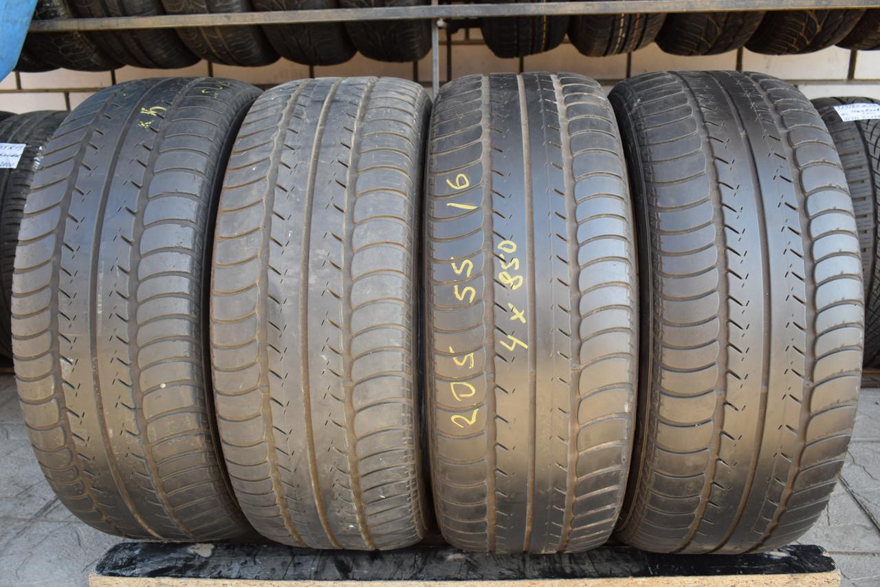 Летние шины б/у 205/55 R16 Goodyear Eagle NCT 5, комплект