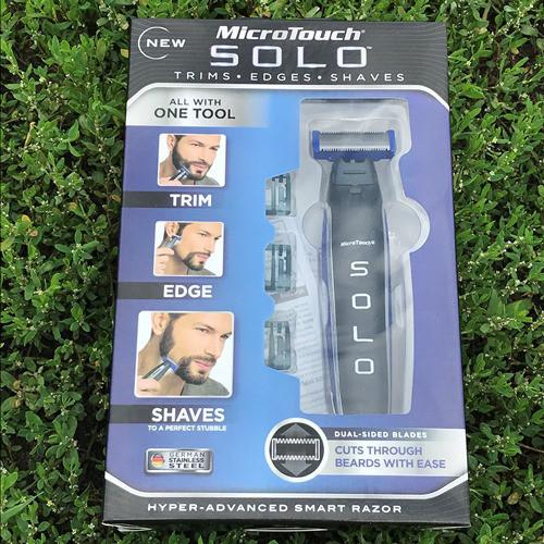 Тример, бритва для мужчин Micro Touch Solo MicroTouch ad