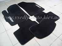 Текстильные коврики в салон CHERY Kimo (Черные)