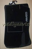 Ворсовые коврики в салон CHEVROLET Aveo с 2012 г.