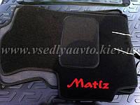Ворсовые коврики в салон Daewoo Matiz