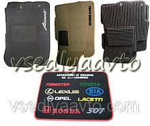 Ворсовые коврики MERCEDES W140 SEL (91-99)(long)