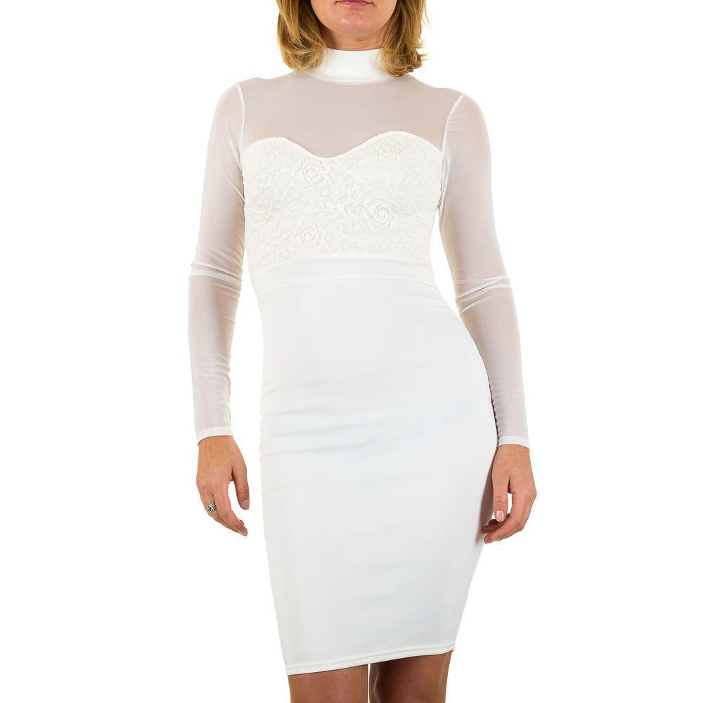 Женское платье от Missagi Лондон, размер 36 - белый - KL-AV65045-white 36