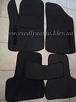 Ворсовые коврики в салон Citroen C3 с 2002-2009 гг.