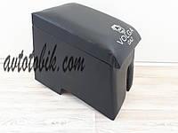 Подлокотник ГАЗ Волга 2410, 31029, 3110 с надписью, вышивкой (черный), фото 1